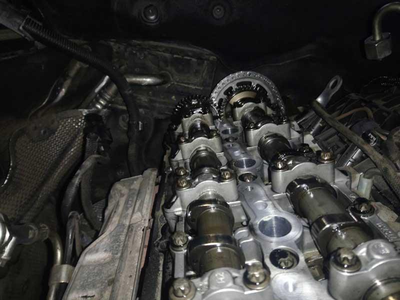 BMW F10 520d N47 - istegljen lanac